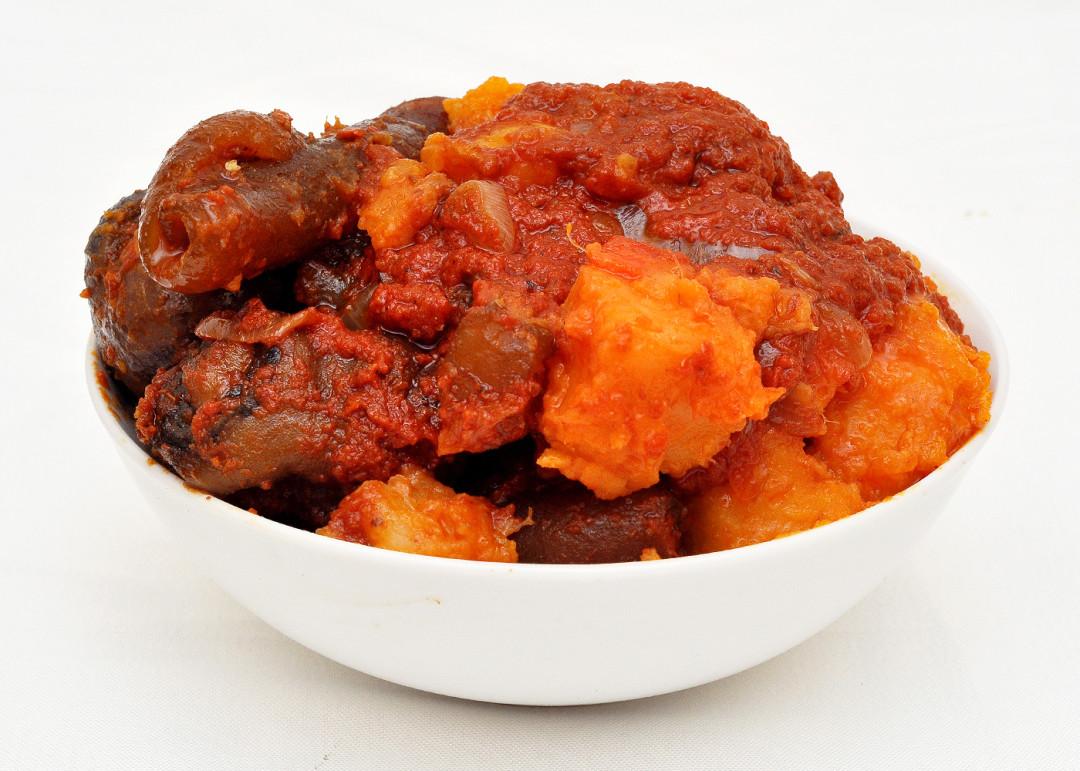 Plantain and Sweet Potato Pottage (Porrage)
