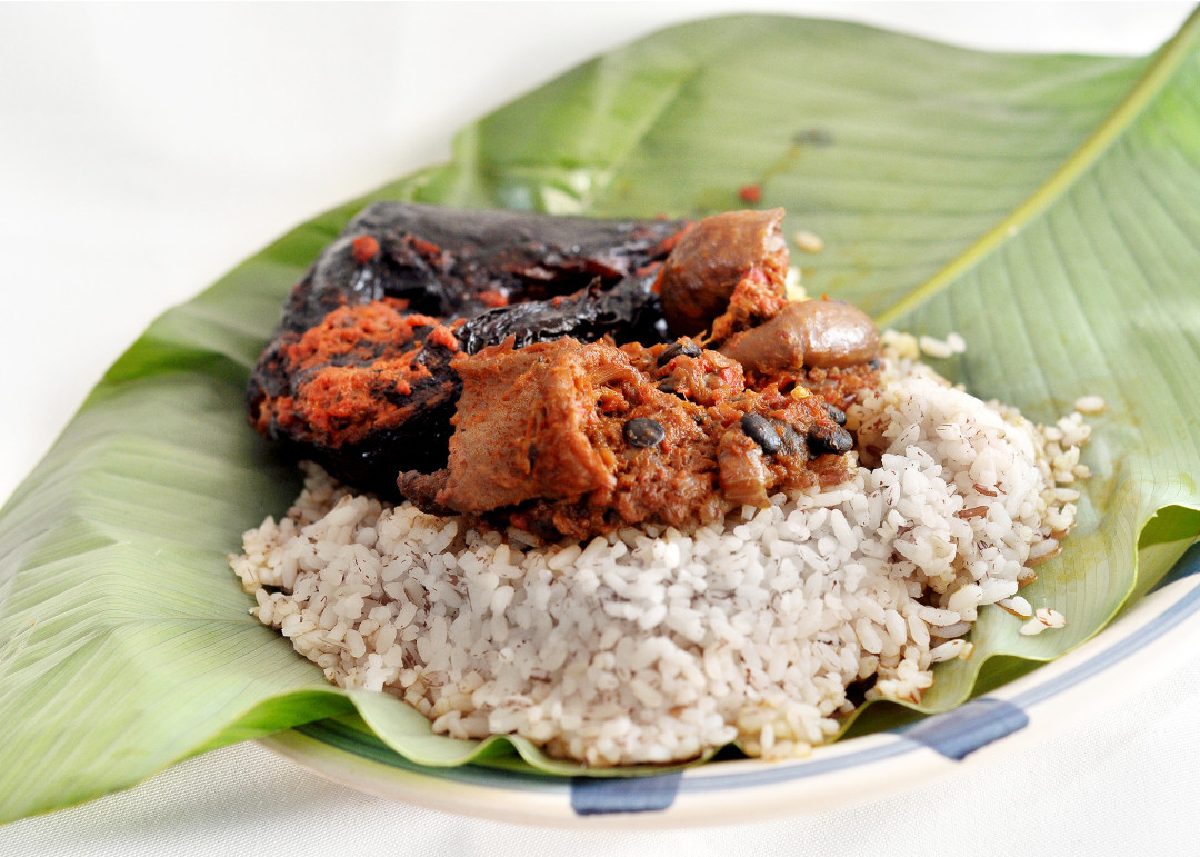 How to Cook Brown or Ofada Rice Perfectly